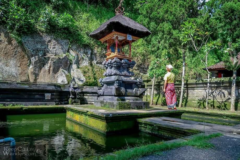 Elephant Cave Temple Bali Hindu Buddhist