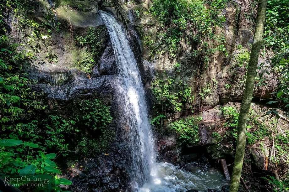 Goa Gajah Waterfalls in Bali Indonesia
