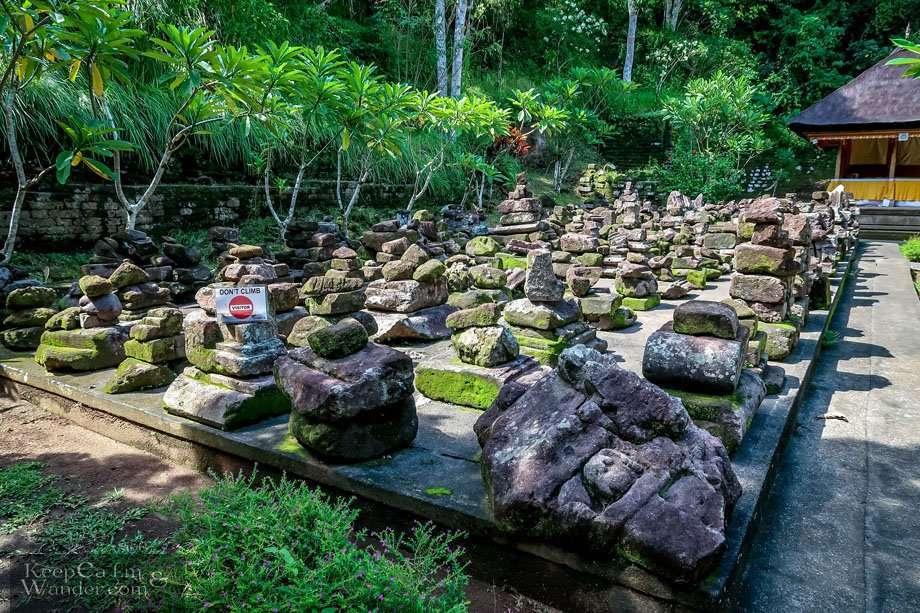 Elephant Cave Temple Bali Monster statue