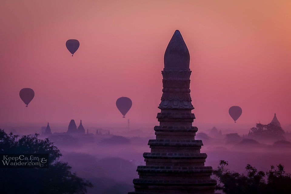 Sunrise in Bagan - One You Must Witness Myanmar