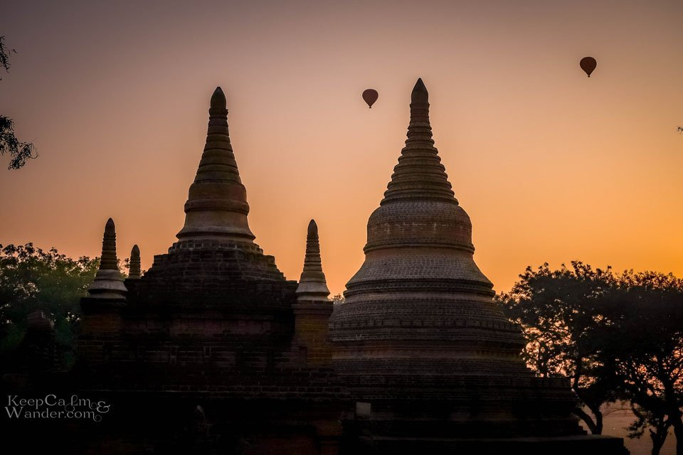 Sunrise in Bagan Balloon