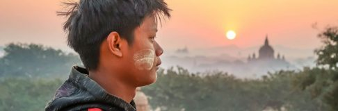 Bagan Sunrise Baloon Myanmar 15