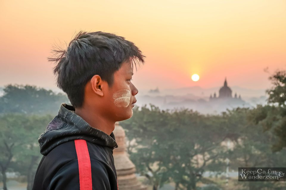 Myanmar sunrise