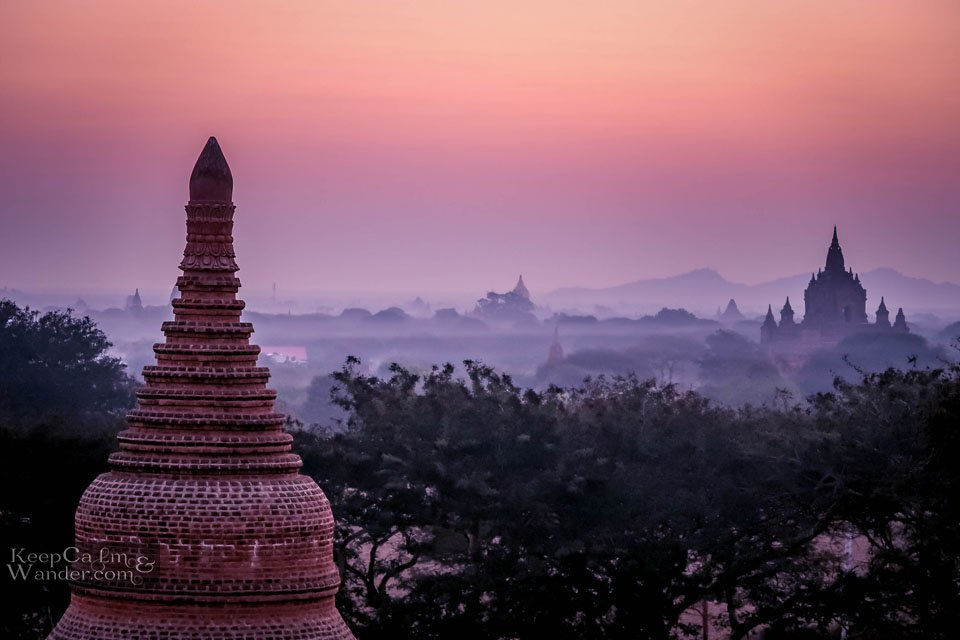 Ancient temples in Bagan