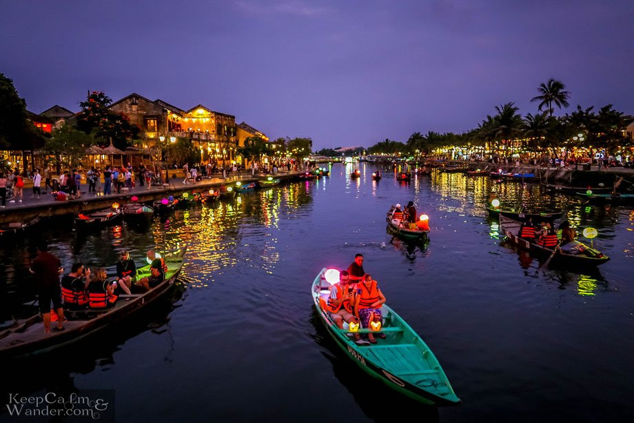Sightseeing HoiAn (Vietnam).