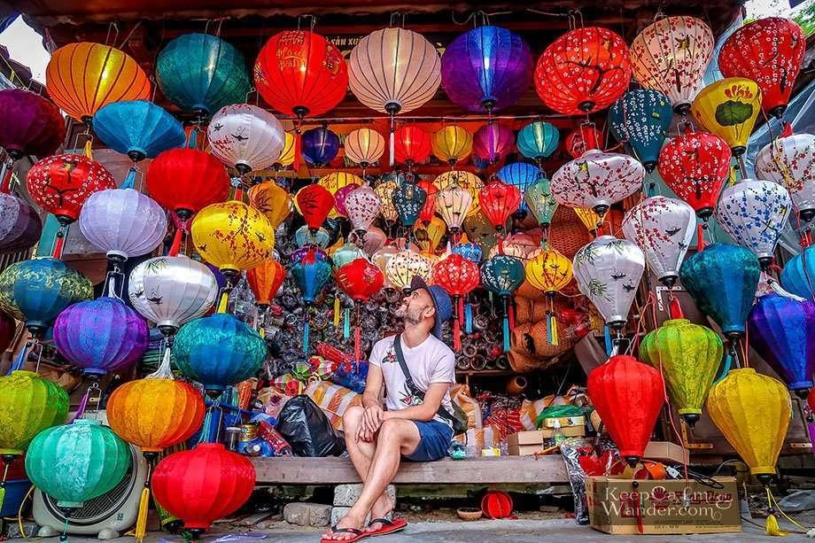 Tourist attractions in HoiAn, Vietnam.
