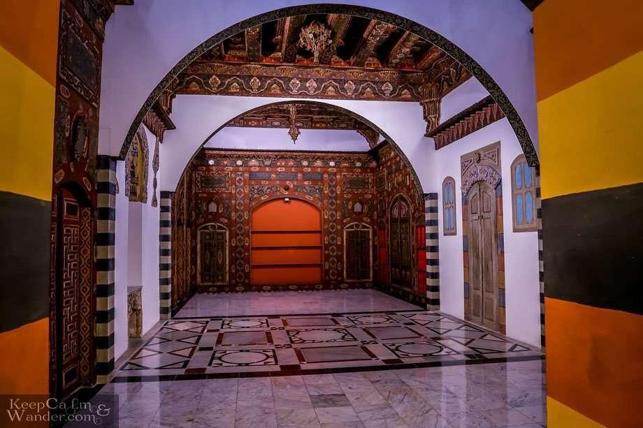 Damascus Room inside the Islamic Arts Museum in Kuala Lumpur (Malaysia).