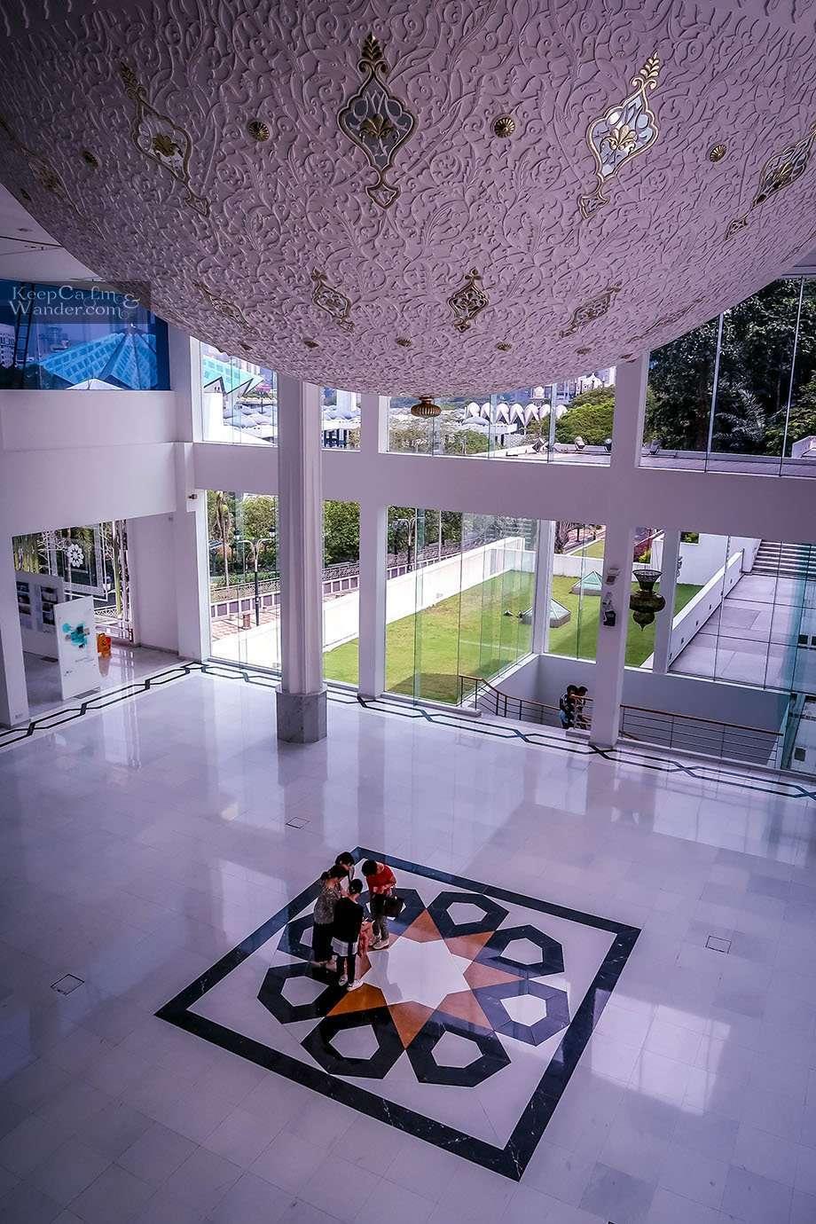 Inverted dome Islamic Arts Museum Kuala Lumpur