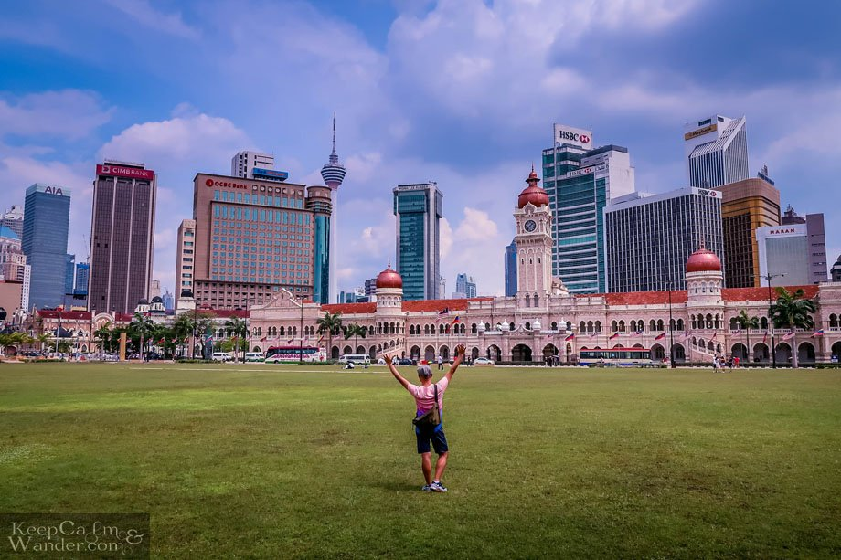 Merdeka Square is Kuala Lumpur's Most Historical Area to Visit Malaysia