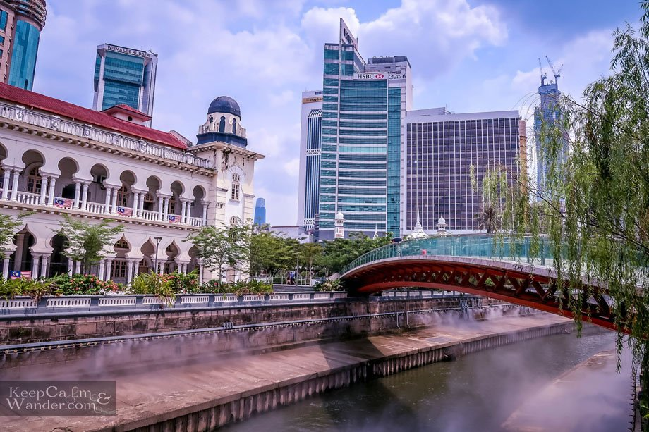 Tourist attractions in Kuala Lumpur Merdeka Square