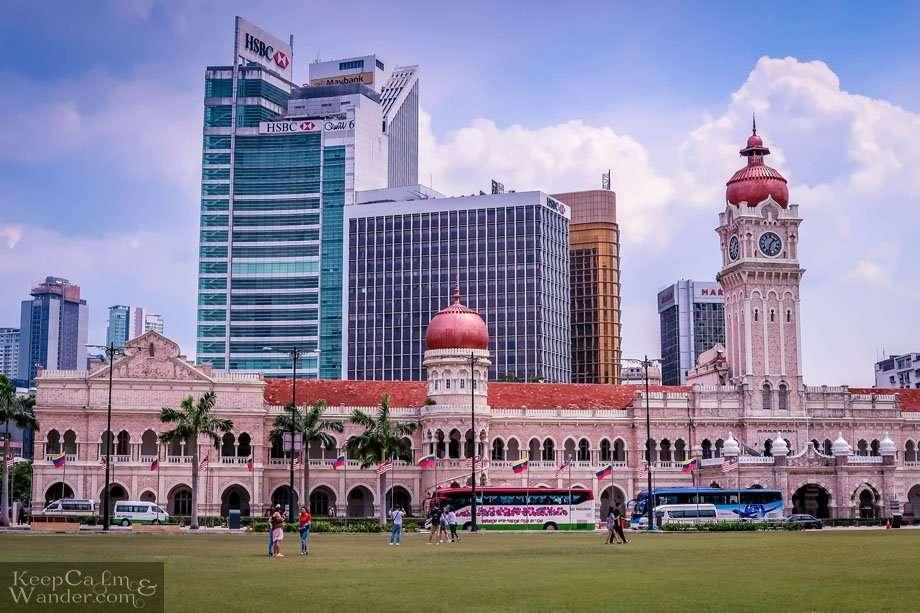Sultan Abdul Samad Building Kuala Lumpur Malaysia