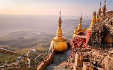 Mt Popa Temples Bagan Myanmar 4