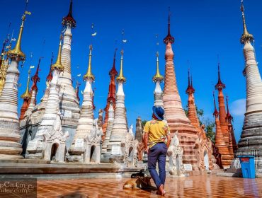 Shwe Inn Dein Pagodas Lake Inle Myanmar 2