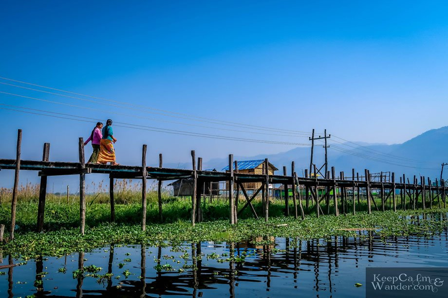 Maing Thauk Village and its Stilt Houses at Lake Inle