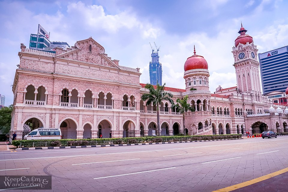 Sultan Abdul Amad Building Kuala Lumpur Malaysia