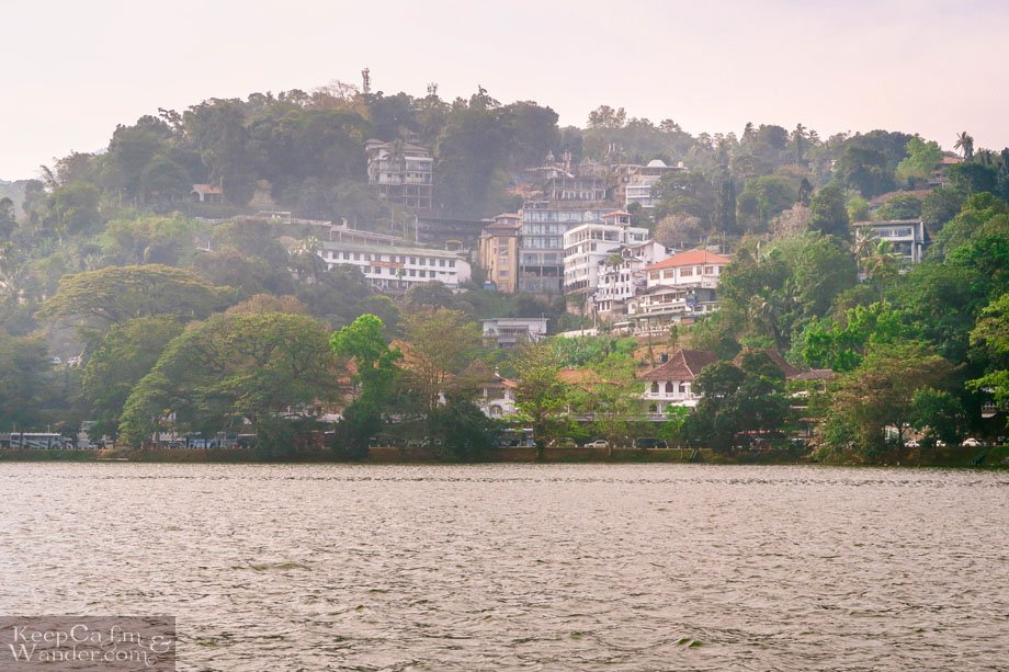 Views Around Kandy Lake Sri Lanka