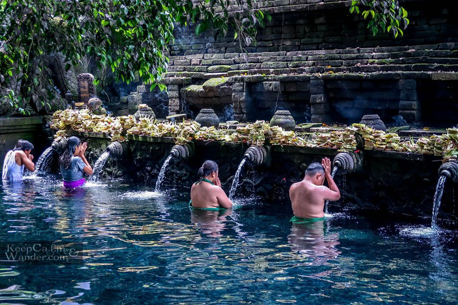 Tirta Empul Temple - Bali's Sacred Spring Pool