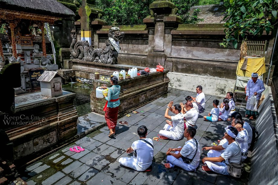 Tourist attractions in Bali / Pura Tirta Empul Temple