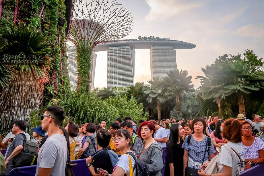 Tourist attractions in Singapore.