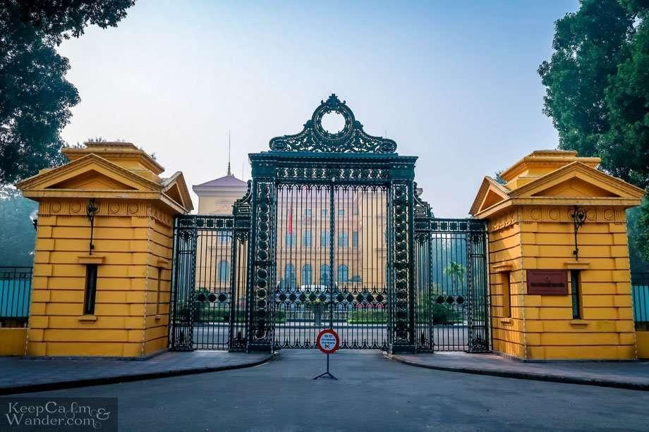 President House Hanoi Vietnam