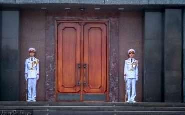 Ho Chi Minh Mausoleum Hanoi Vietnam 4