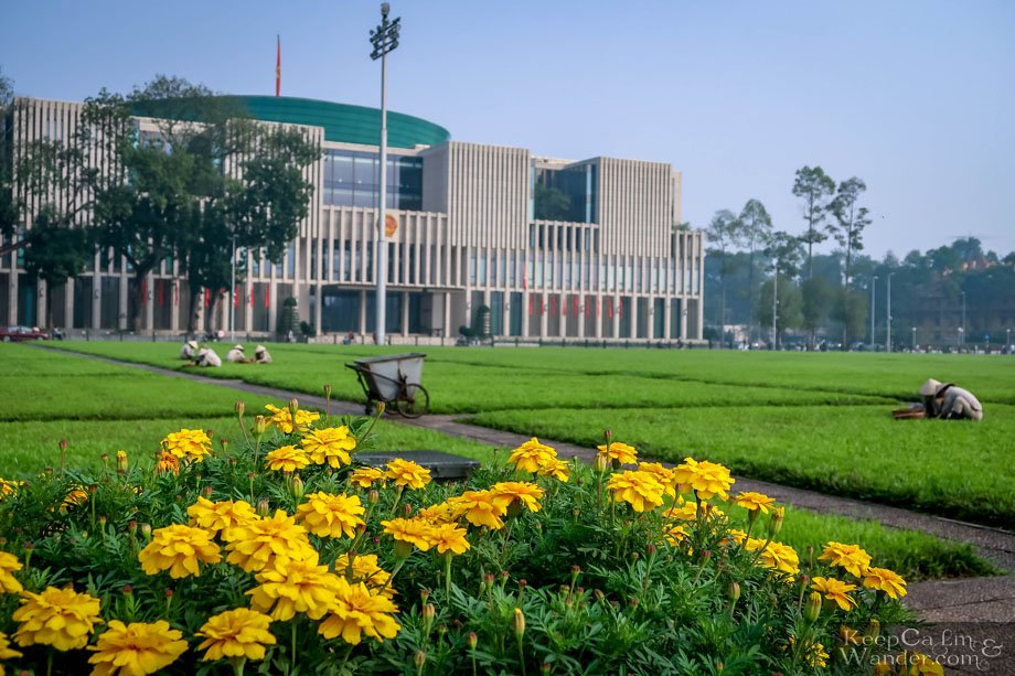Parliament Building in Hanoi Vietnam