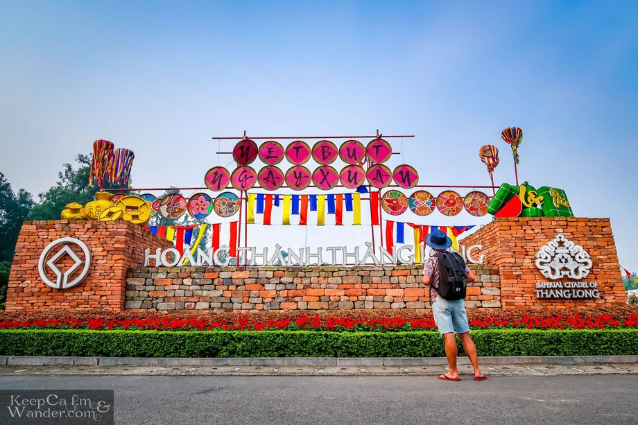 The Imperial Citadel of Than Long in Hanoi