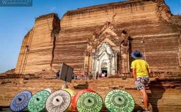 Mingun Pagoda Pahto Daw Gyi Pagoda Mandalay 4