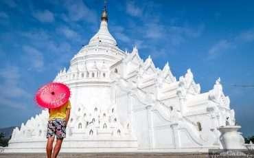 Mya Thein Dan Pagoda – White Pagoda – Mingun Mandalay 5