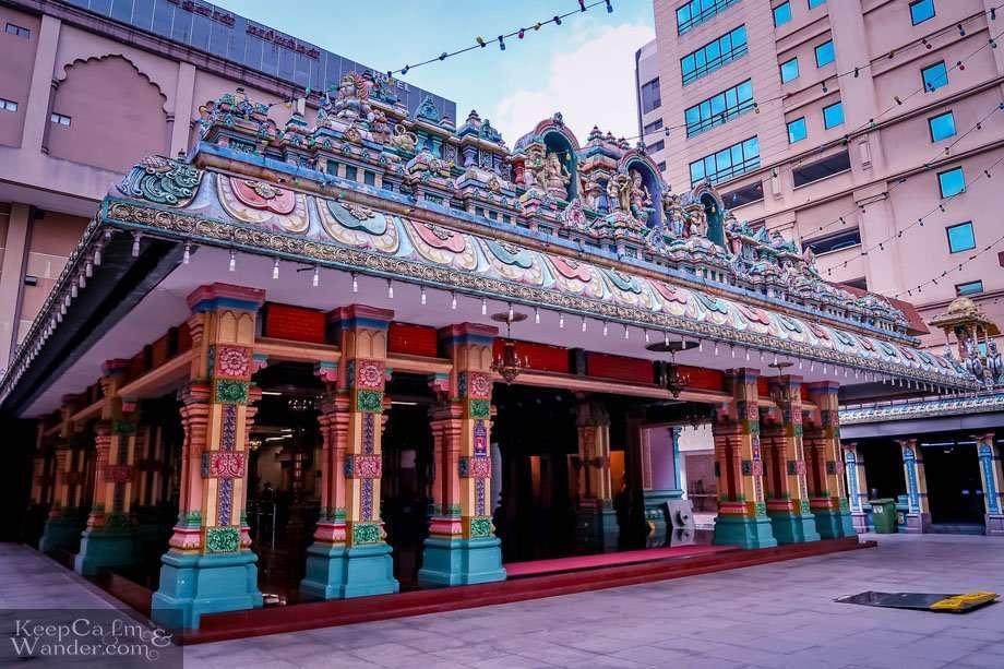 Hindu Temple in Kuala Lumpur Malysia