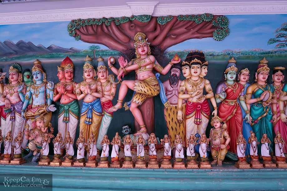Sri Mahamariamman - The Oldest Hindu Temple in Kuala Lumpur Malaysia