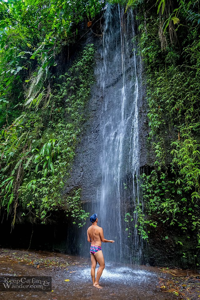 Tourist attractions in Bali Waterfalls