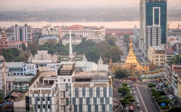 Yangon Yangon Bistro Skyline Sakura Tower 8