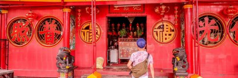 Jakarta Chinatown Temples Indonesia 1