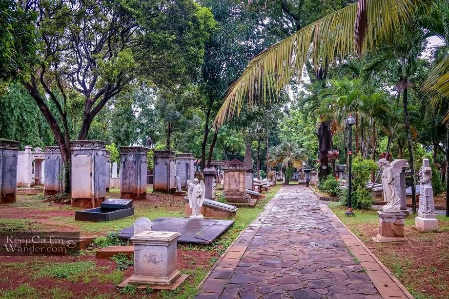 Museum Prasasti - a Necropolis in Jakarta Indonesia