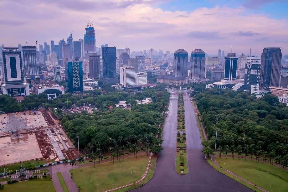 Views from Nasional Monumen Monas
