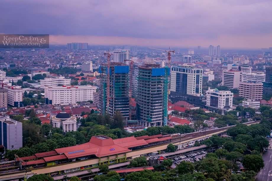 Train station Jakarta Indonesia