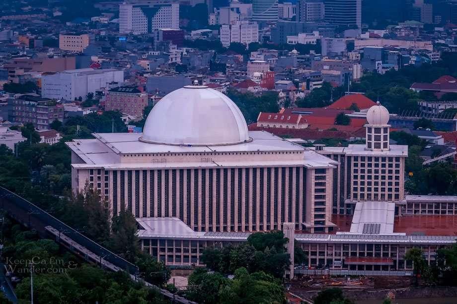 Istiqlal Mosque Indonesia