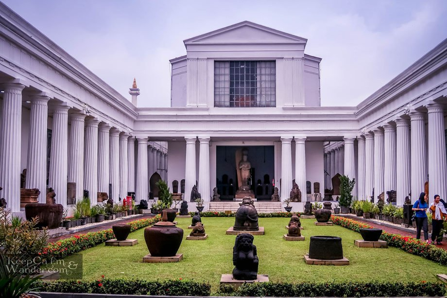 The National Museum in Jakarta Has More Than A Hundred Thousand Relics