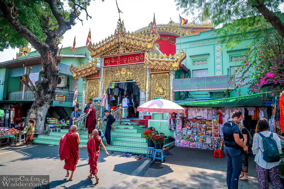 Soon U Pon Nya Shin Paya Pagoda and a Hundred More Pagodas on a Hill in Sagaing Mandalay Myanmar
