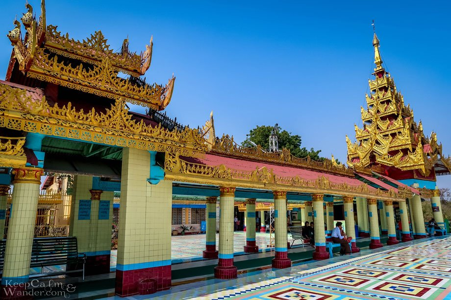 Sightseeing in Sagaing (Mandalay).