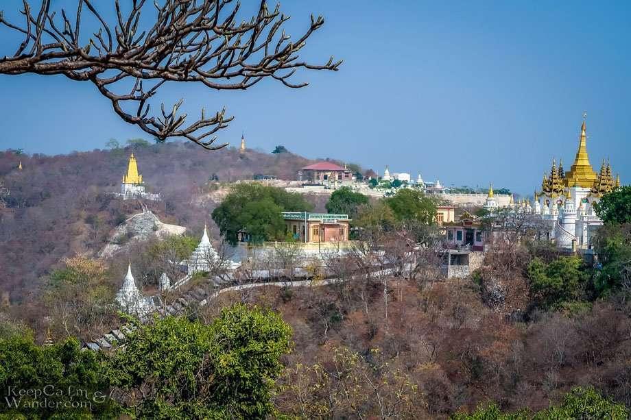 Soon U Pon Nya Shin Paya Pagoda and a Hundred More Pagodas on the Hills in Sagaing
