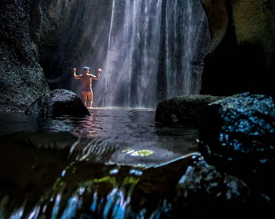 Tukad Cepung Waterfalls Bali 0