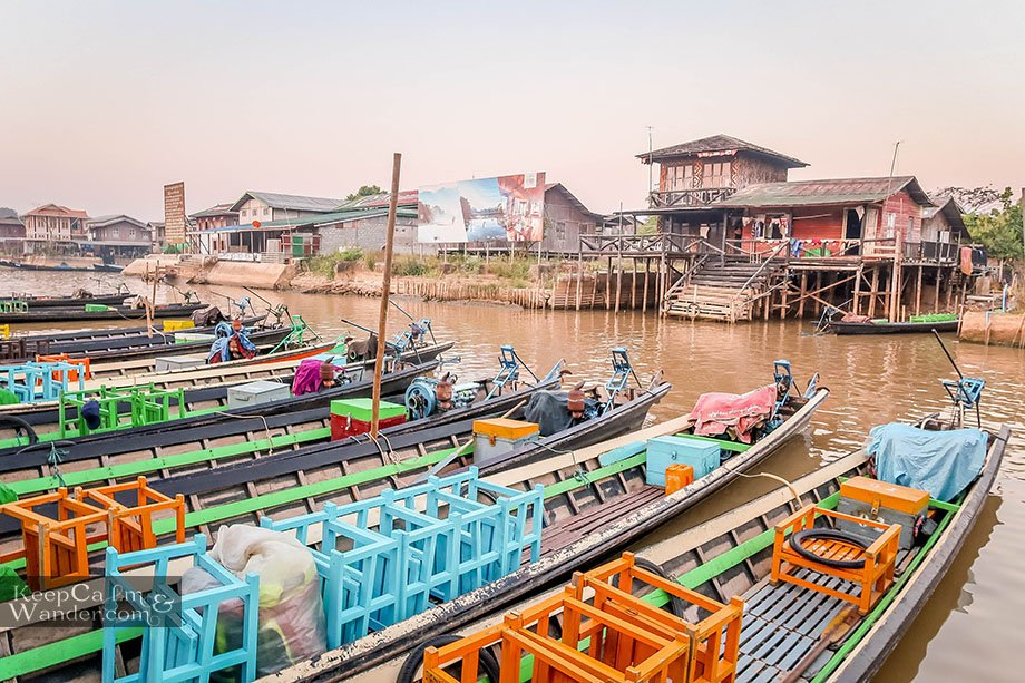 Lake Inle Tour + Shwe InDein Pagodas for a Day
