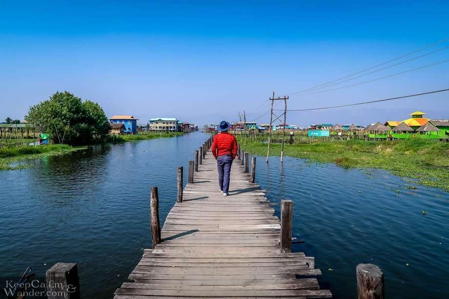 Myanmar Maing Chauk Floating Village