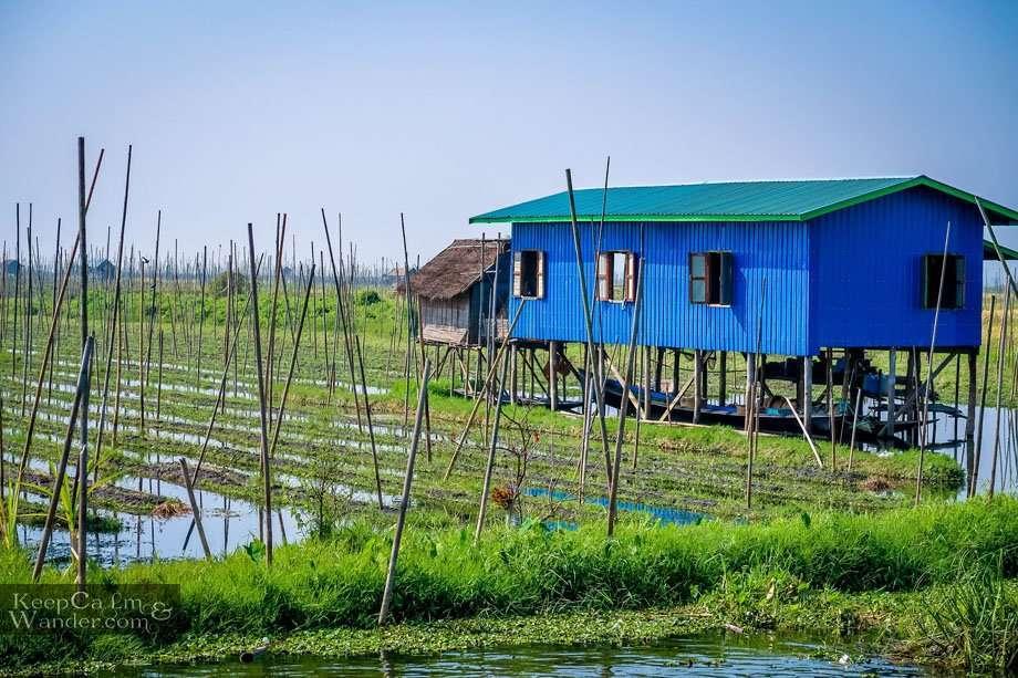 Floating Gardens Myanmar