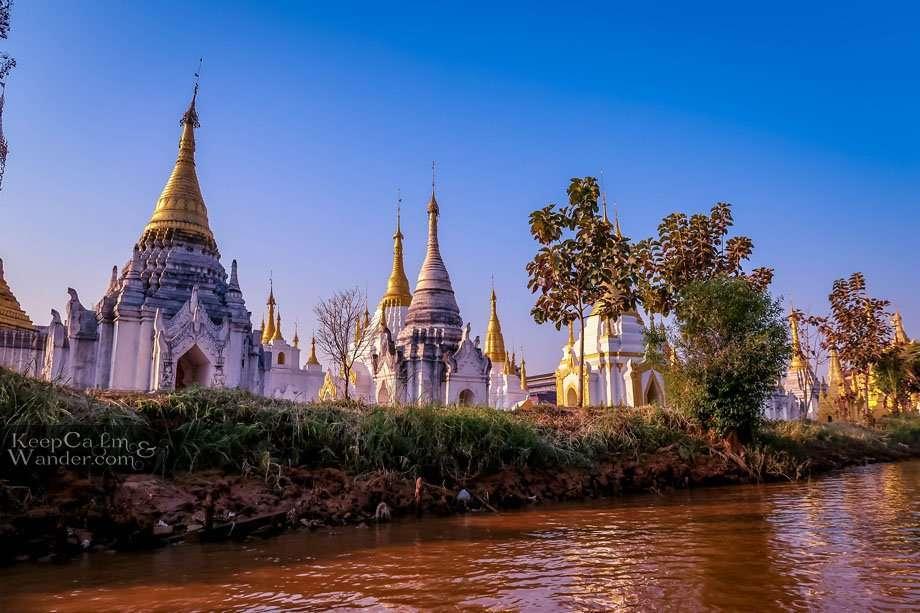 Myanmar Phaung Daw Oo Pagoda Lake Inle