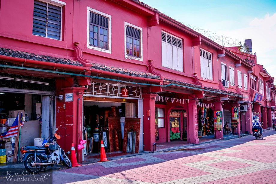 Houses in Malacca Melaka