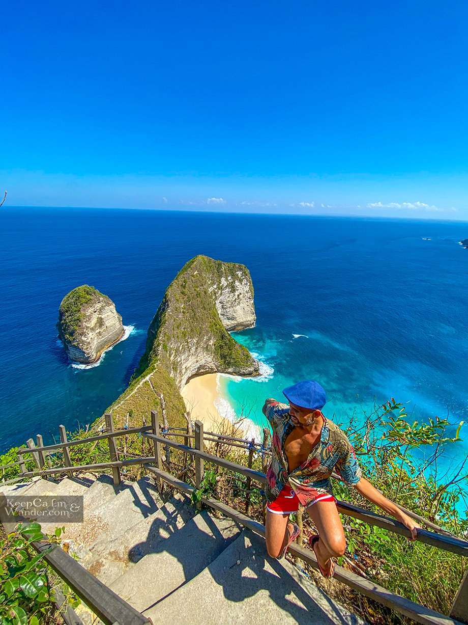 Kelingking Beach in Nusa Penida is Your Ultimate Hiking Trail Down to the White Beach