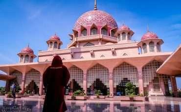 Putra Masjid Pink Mosque Putra Jaya Malaysia 1